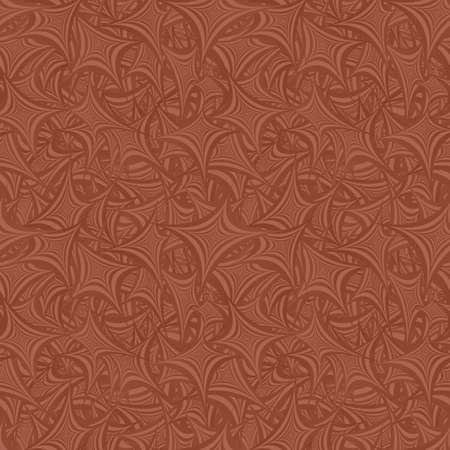 irregular shapes: Light brown seamless abstract shape pattern background