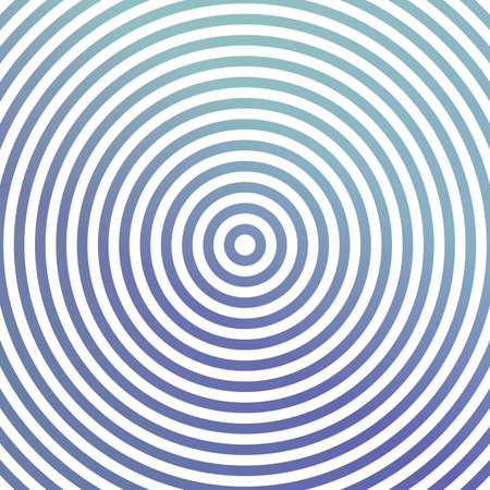circulos concentricos: Dise�o azul del fondo met�lico con los c�rculos conc�ntricos
