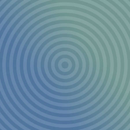 blue circles: Blue gradient background design with concentric circles Illustration