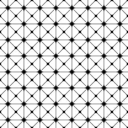 grid pattern: Seamless black and white grid pattern design