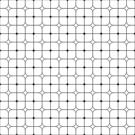 grid background: Seamless abstract monochrome grid pattern design background