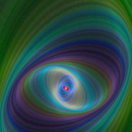 eliptica: Colorido el�ptica geom�trica fondo de arte digital abstracto