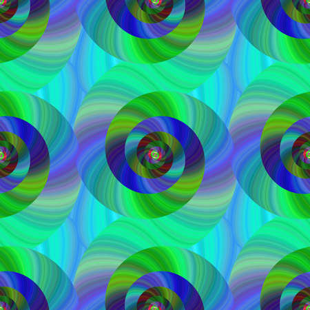 spiral pattern: Seamless abstract psychedelic spiral pattern design background