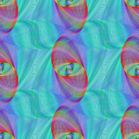 ligh: Seamless abstract colorful fractal pattern design background