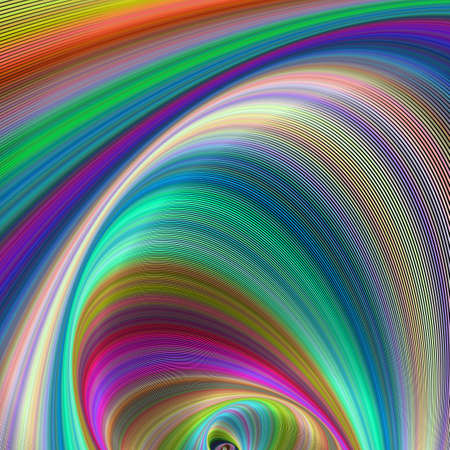 computer art: Colorful dream - abstract computer generated fractal art