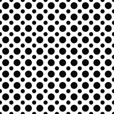 Seamless monochrome dot design pattern de répétition fond