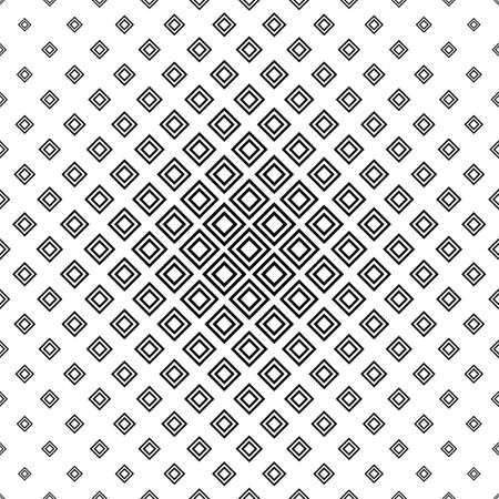 square pattern: Repeating monochromatic vector square pattern design background