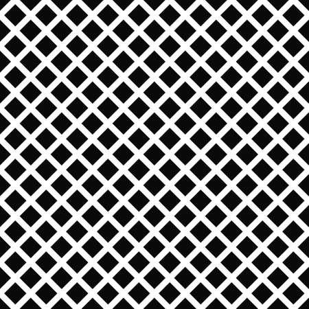 repeat pattern: Repeat black white vector square pattern design background