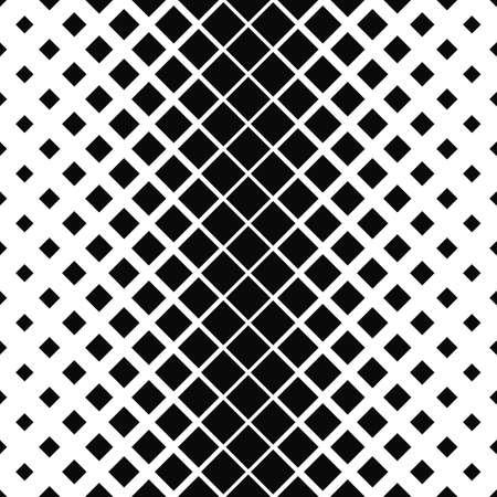 Répétition vecteur monochrome motif carré conception de fond
