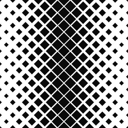 Repeating monochrome vector square pattern design background
