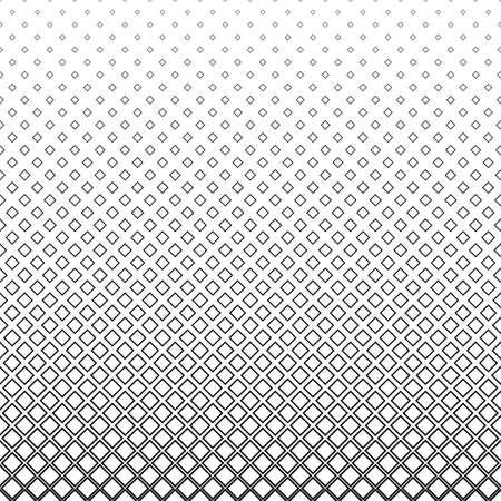 monochromatic: Repeat monochromatic vector square pattern background design Illustration