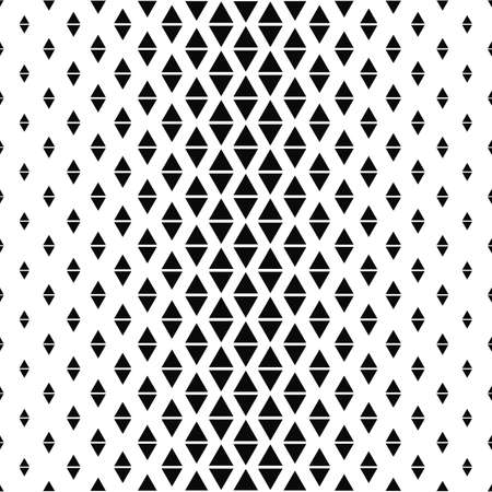 repeat: Repeat monochrome abstract triangle pattern design background Illustration