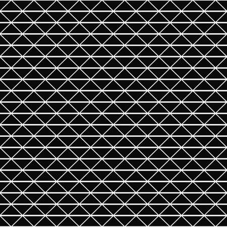 repeating: Repeating monochrome vector triangle pattern design background