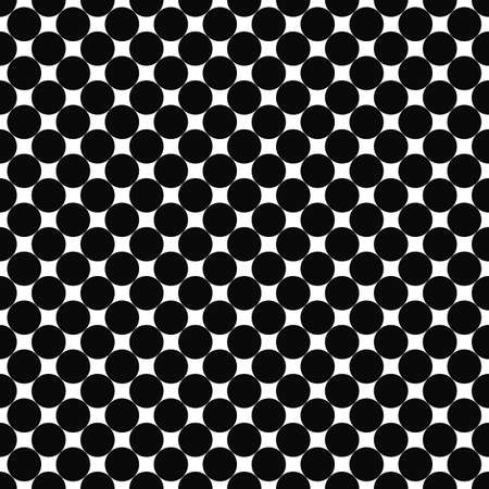 monochromatic: Repeat monochromatic abstract circle pattern design background