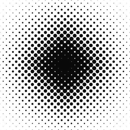 circle design: Seamless black white abstract circle pattern design