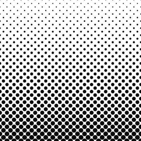 黒丸白抽象的なパターン デザイン背景を繰り返し  イラスト・ベクター素材
