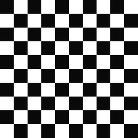 checkered pattern: Seamless black and white abstract checkered pattern design