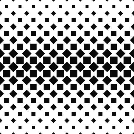 monochromatic: Repeating monochromatic abstract square pattern design background