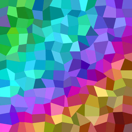 rectangle: Multicolor irregular rectangle mosaic vector background design