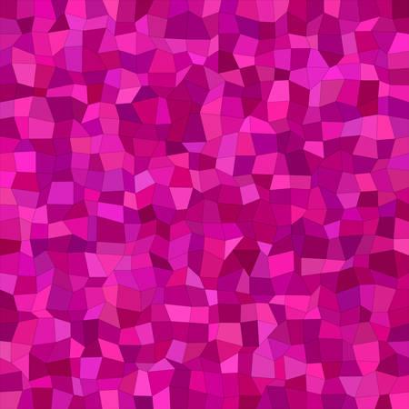 magenta: Irregular rectangle tile mosaic vector background design