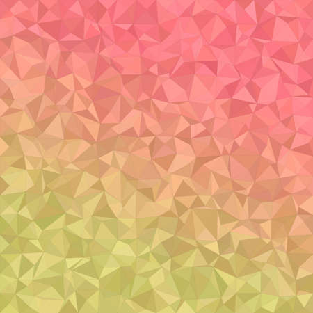 light backround: Yellow and red irregular triangle mosaic background design