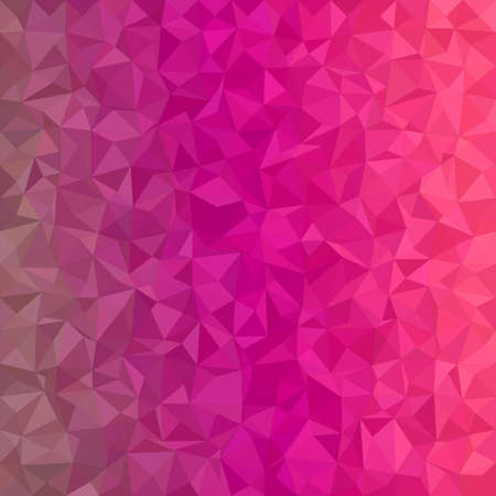 tone: Magenta irregular triangle mosaic vector background design