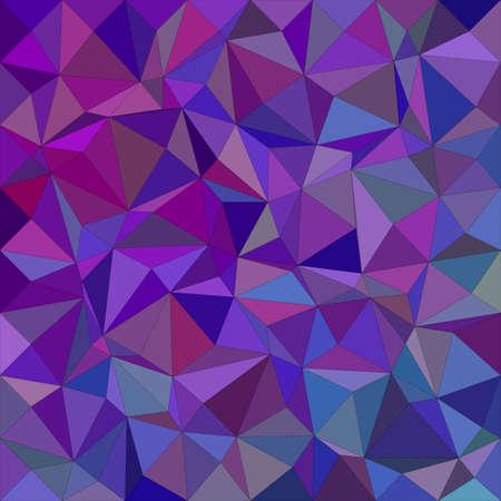 tone: Purple irregular triangle mosaic vector background design Illustration