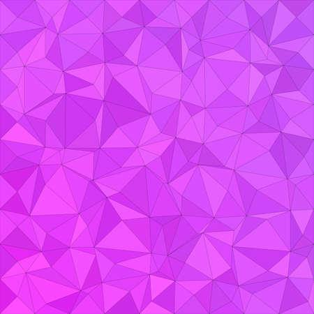 magenta: Magenta irregular triangle mosaic vector background design