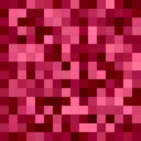 fuschia: Abstract color square mosaic vector background design