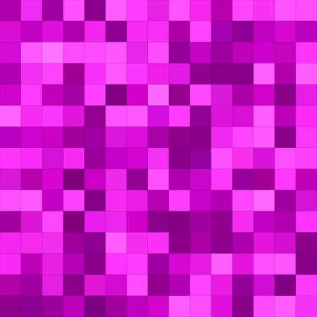 magenta: Magenta color square mosaic vector background design