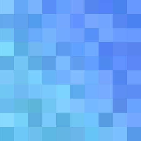 bluer: Light bluer square mosaic vector background design Illustration