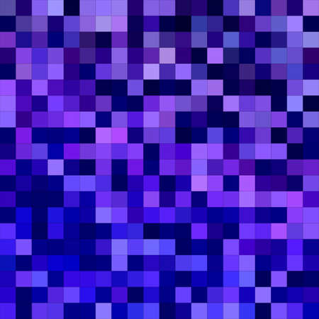mosaic: Blue purple square mosaic vector background design