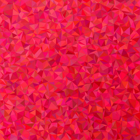Crimson irregular triangle mosaic background design Ilustração Vetorial