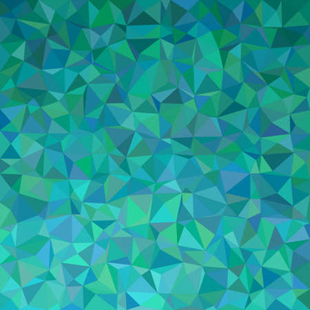 Teal irregular triangle mosaic background design
