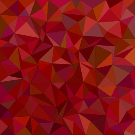 maroon: Maroon irregular triangle mosaic background design Illustration
