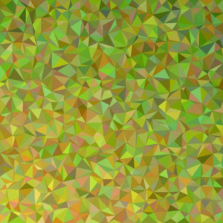 polyhedron: Olive irregular triangle mosaic background design