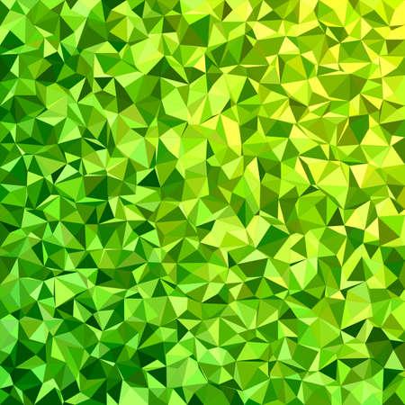 light backround: Green irregular triangle mosaic background design