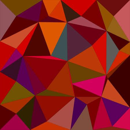 irregular: Dark color irregular triangle mosaic background design
