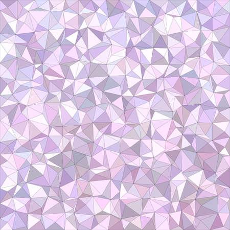 irregular: Light purple irregular triangle mosaic background design
