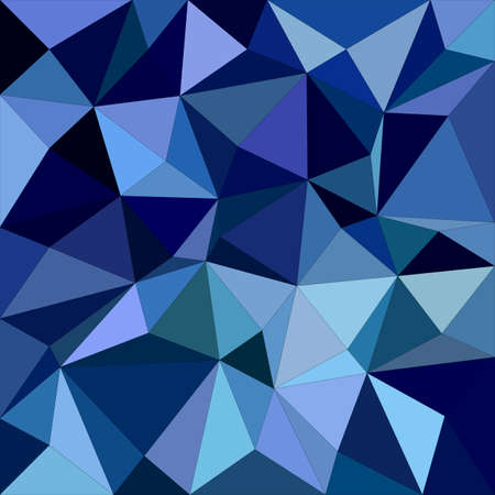 irregular: Blue irregular triangle mosaic background design