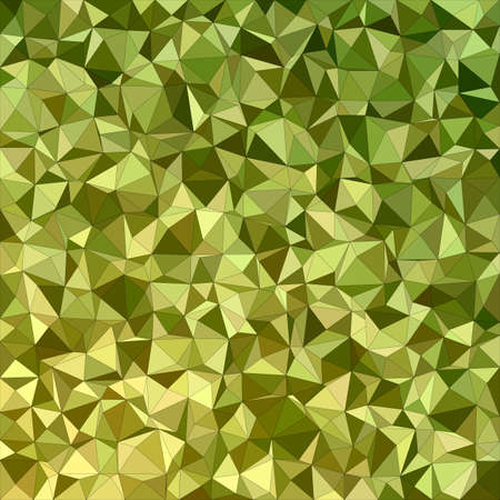 Olive irregular triangle mosaic background design