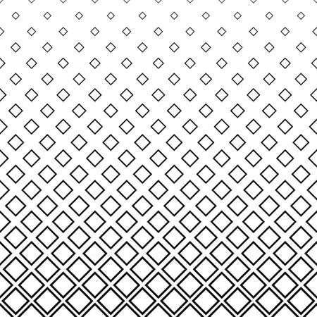Seamless noir et blanc carré motif de fond Vecteurs