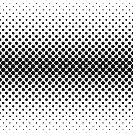 monochrome Répétition du motif circulaire fond