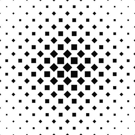 square pattern: Seamless black white abstract square pattern background