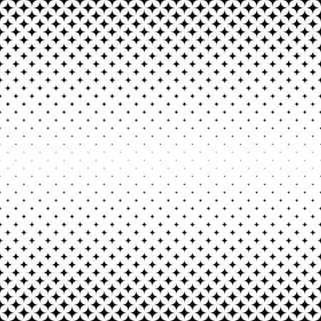 star pattern: Repeating monochrome star pattern design background