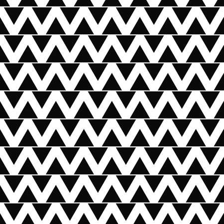 monochromatic: Seamless monochromatic abstract triangle pattern background vector