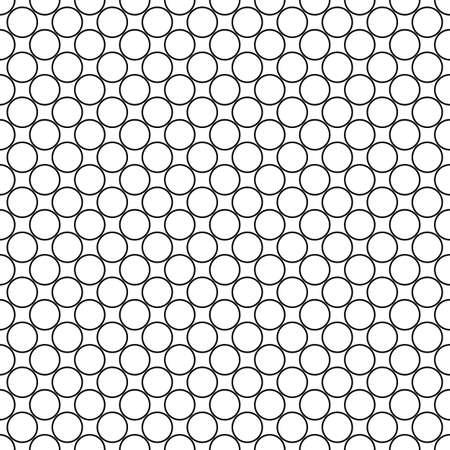 Répétition monochromatique motif de cercle conception abstraite de fond