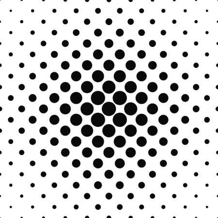 Seamless design pattern cercle noir et blanc