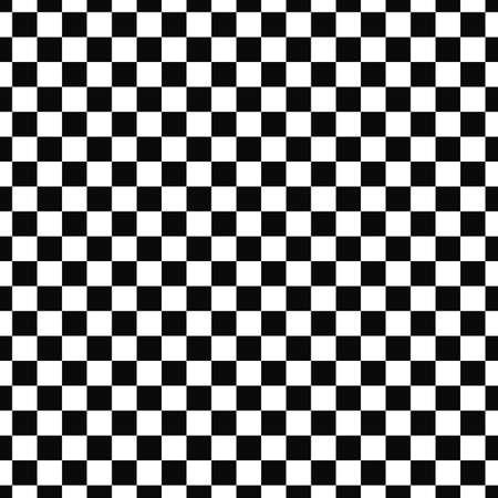 Ripetere monocromatica a scacchi sfondo quadrato modello