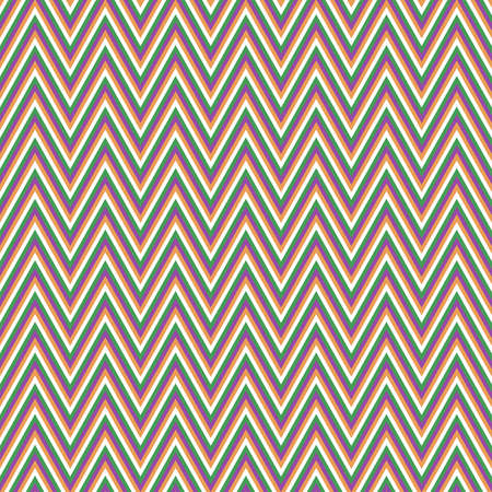 chevron pattern: Colored retro chevron pattern vector background design